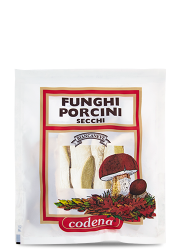 Cartella Biancaneve funghi porcini secchi Extra - Codena