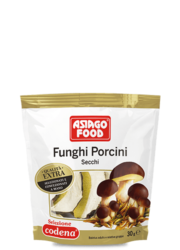 Dried porcini mushrooms Extra Quality – doypack - Asiago Food