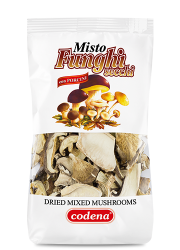 Dried mixed mushrooms with porcini 2.11 oz (60 g) - Codena