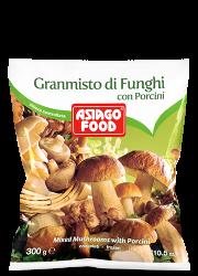 Granmisto di funghi con porcini - Asiago Food
