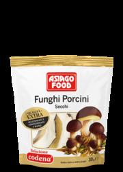 Dried porcini mushrooms Extra Quality 1.05 oz (30 g) - Asiago Food