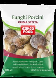 Whole porcini mushrooms – First choice (1A) - Asiago Food