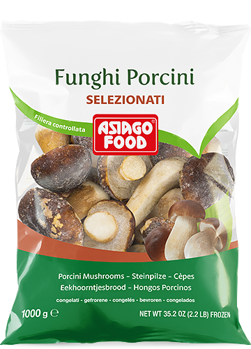 Funghi porcini interi Selezionati 1000g - Asiago Food