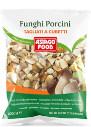 Diced porcini mushrooms - Asiago Food