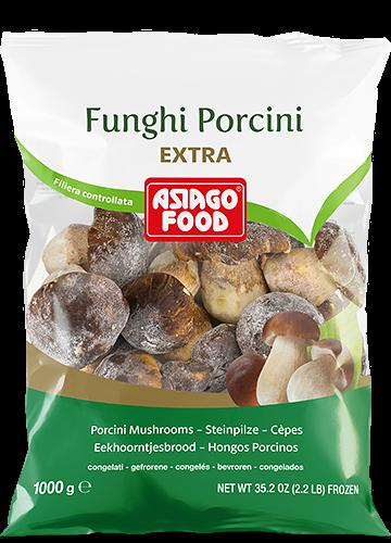 Funghi porcini interi Extra 1000g - Asiago Food