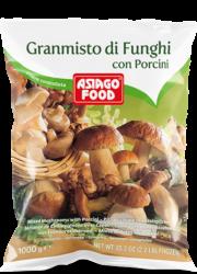 Mixed mushrooms with porcini 2.2 lb (1 kg) - Asiago Food