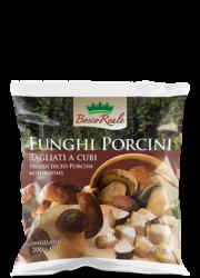 Diced porcini mushrooms 7 oz (200 g) - Bosco Reale