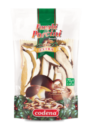 Dried porcini mushrooms Extra Quality – doypack - Codena