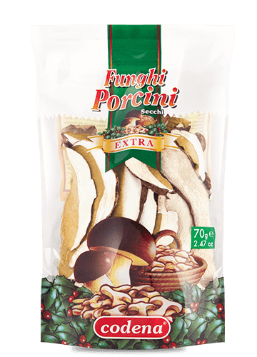 Dried porcini mushrooms Extra Quality – doypack 70g - Codena