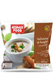 Vellutata di funghi con porcini - Asiago Food