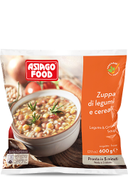 Zuppa di legumi e cereali - Asiago Food