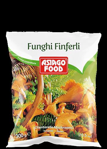 Chanterelle mushrooms 300g - Asiago Food