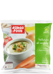 Cream of vegetable soup - Asiago Food