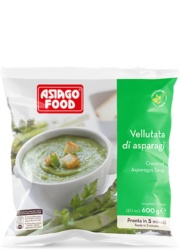 Cream of asparagus soup - Asiago Food