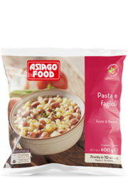 Pasta and beans - Asiago Food