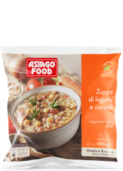 Legume and grain soup - Asiago Food
