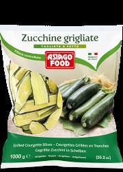Zucchine grigliate a fette - Asiago Food