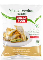 Battered mixed vegetables - Asiago Food