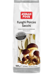 Dried porcini mushrooms Special Quality in bag - Asiago Food