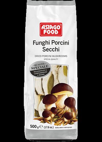 Sacchetto funghi porcini secchi Speciali 500g - Asiago Food