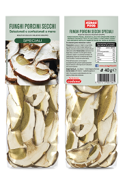 Dried porcini mushrooms Special Quality 1.4 oz (40 g) - Asiago Food