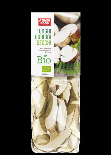 Organic dried porcini mushrooms Special Quality 30g - Asiago Food