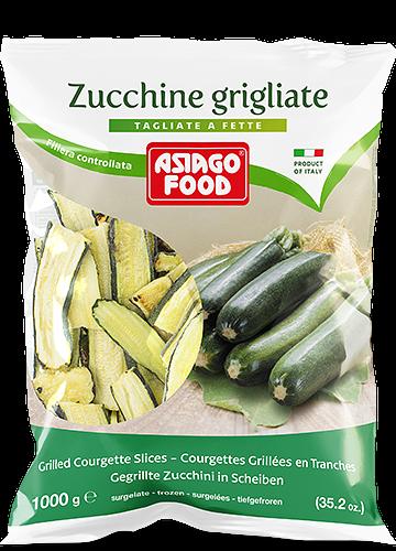Zucchine grigliate a fette 1000g - Asiago Food