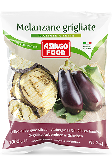 Melanzane grigliate a fette 1000g - Asiago Food