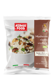 Mushroom risotto with porcini (US) - Asiago Food