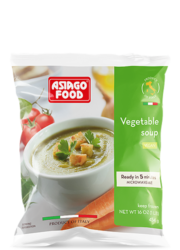 Vegetable soup (US) - Asiago Food
