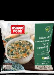 Zuppa di cavolo nero, ceci e fagioli cannellini - Asiago Food