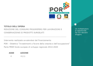 Poster POR FESR Regione del Veneto