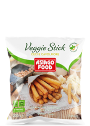 Chickpea and cauliflower Veggie Fries - Asiago Food