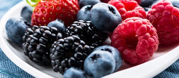 Frutti di bosco surgelati