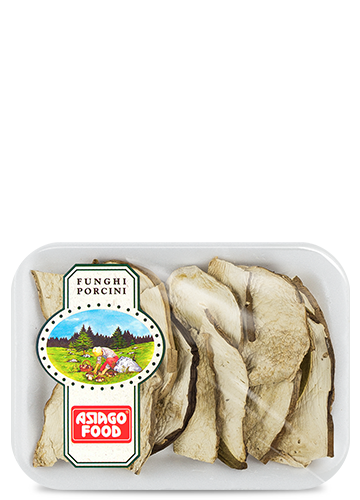 Dried porcini mushrooms Special Quality in tray 20g - Asiago Food