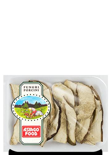 Vassoio funghi porcini secchi Speciali 20g - Asiago Food