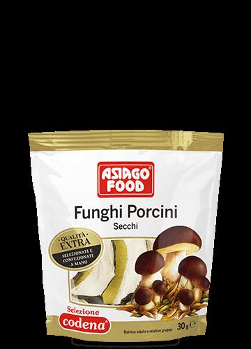 Doypack funghi porcini secchi Extra 30g - Asiago Food