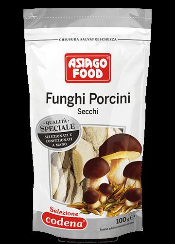 Doypack funghi porcini secchi Speciali 100g - Asiago Food