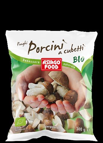 Organic diced porcini mushrooms 300g - Asiago Food