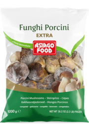 Funghi porcini interi Extra - Asiago Food