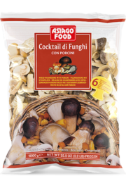 Cocktail di funghi con porcini - Asiago Food
