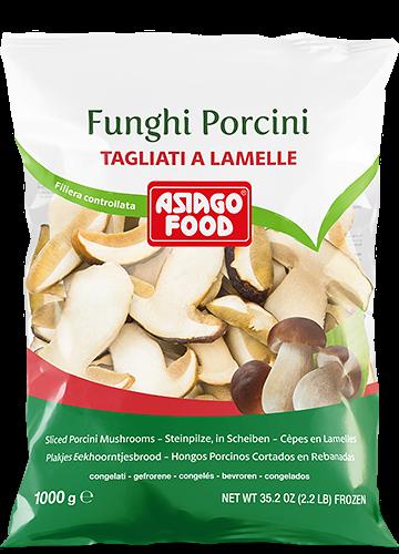 Funghi porcini tagliati a lamelle 1000g - Asiago Food