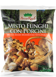 Mixed mushrooms with porcini - Bosco Reale