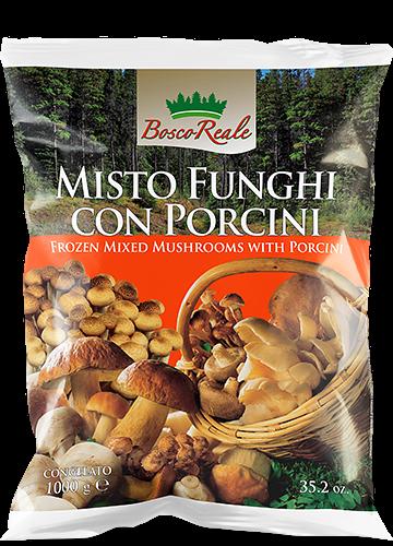 Misto funghi con porcini 1000g - Bosco Reale