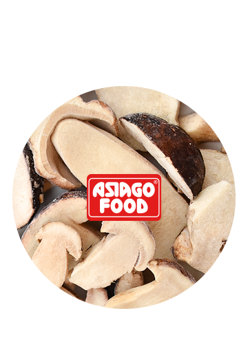 Funghi porcini tagliati a metà 1000g - Asiago Food