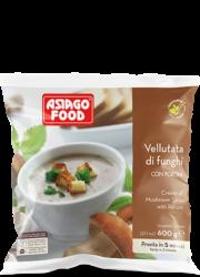 Cream of mushroom soup with porcini - Asiago Food