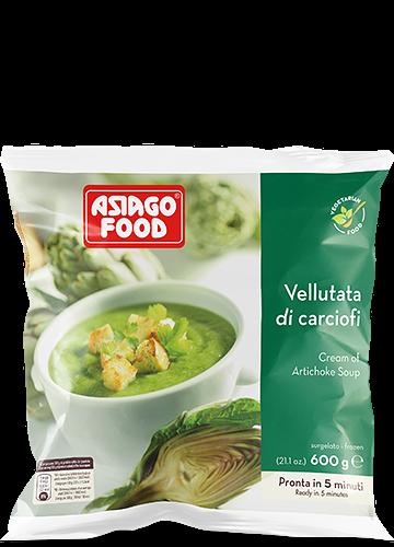 Vellutata di carciofi 600g - Asiago Food