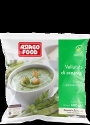 Cream of asparagus soup - Asiago Food