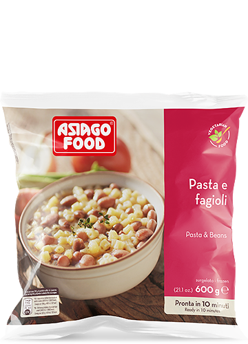 Pasta e fagioli 600g - Asiago Food