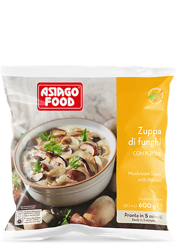 Zuppa di funghi con porcini 600g - Asiago Food